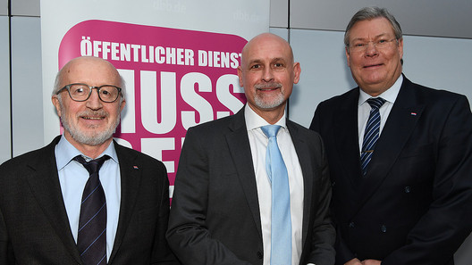 Forderungsfindung in Berlin 2018